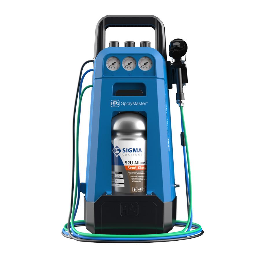SprayMaster verfspuitsysteem